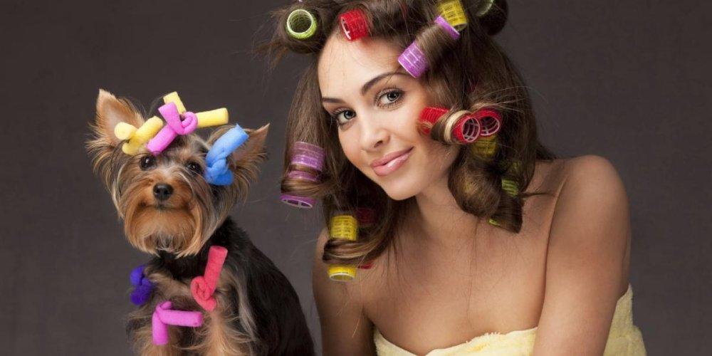 Делаем красивые кудри на волосах