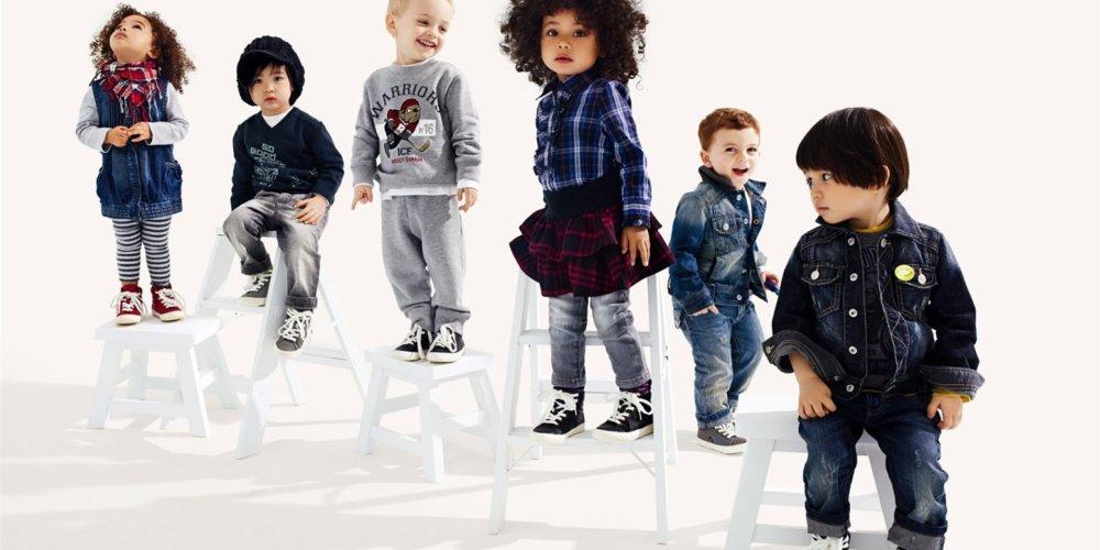 Стильная одежда для детей любого возраста