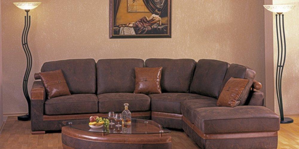 Угловой диван - компактно и комфортно