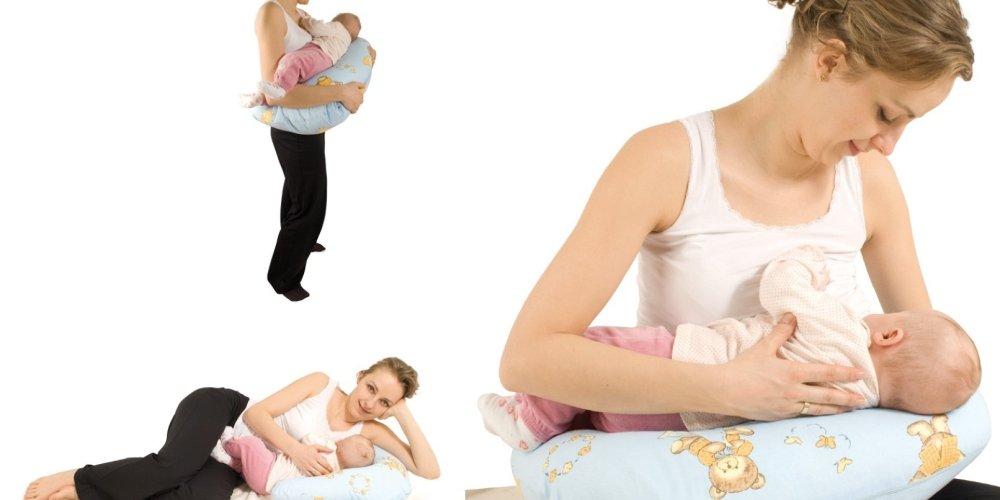 Важные преимущества подушки для кормления
