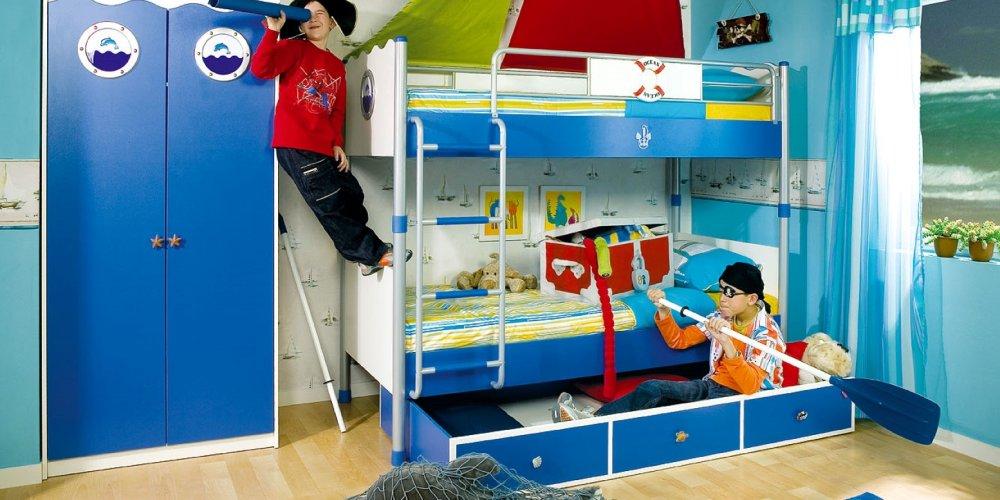 Мебель в оформлении детской комнаты