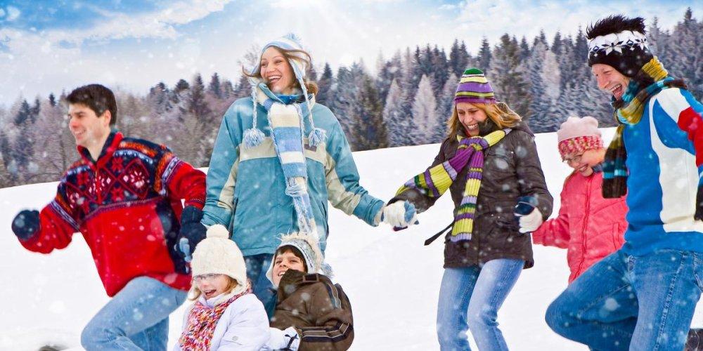 Гардероб для зимнего отдыха