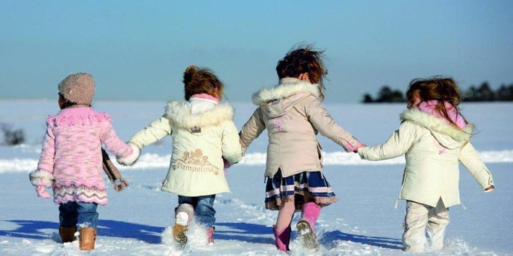 Зимняя экипировка ребенка