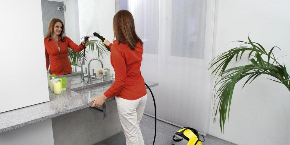 Пароочиститель Karcher - экологичная уборка дома