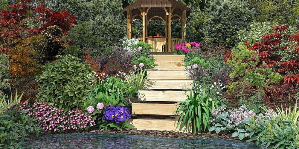 Дизайн садового участка для начинающих