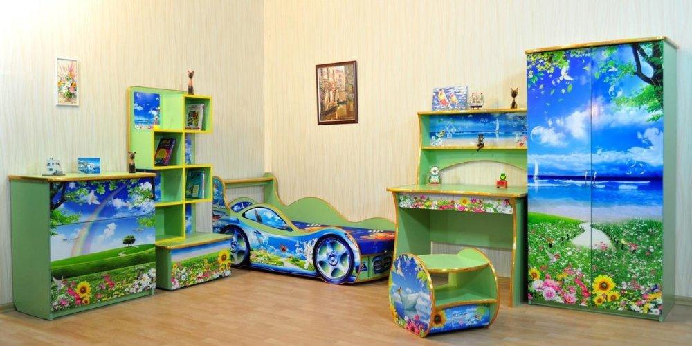 Секреты подбора мебели для детской комнаты