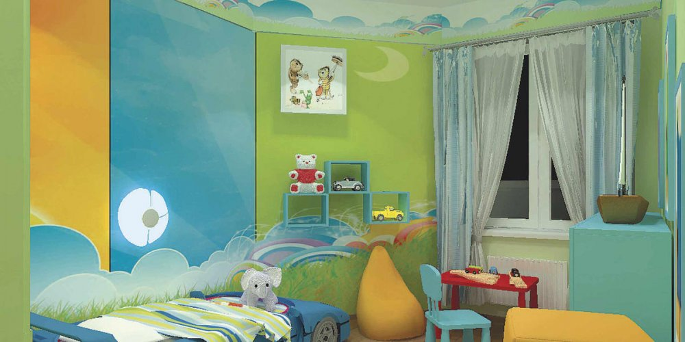 Как создать уютную детскую комнату?
