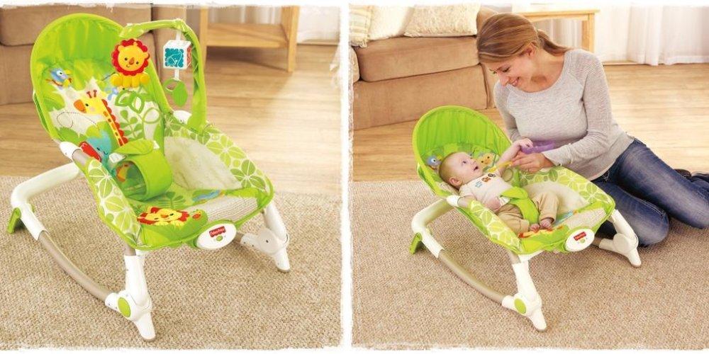 Кресло-качалка для новорожденного