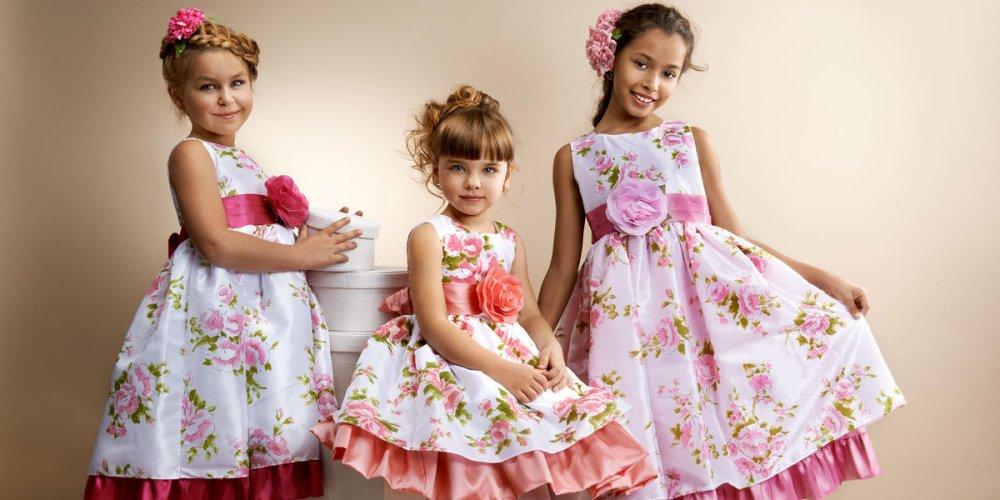 Платье – изысканность и неповторимость каждой девочки