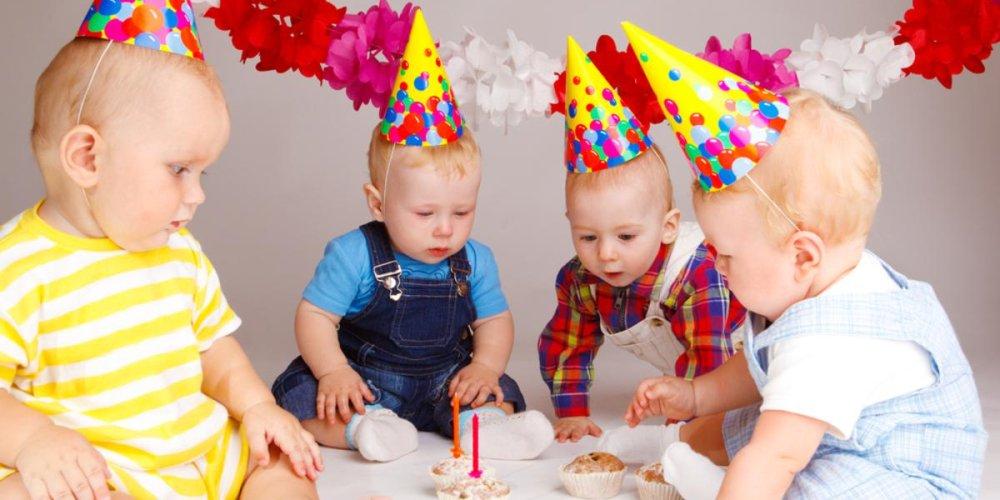 Год малышу: советы мамам по организации праздника
