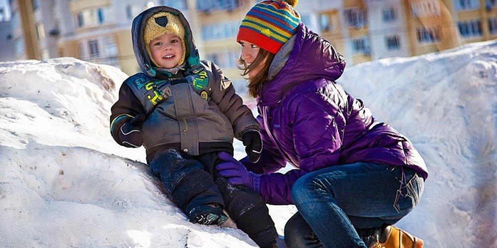 Подвижные игры – замечательный способ времяпровождения с детьми зимой