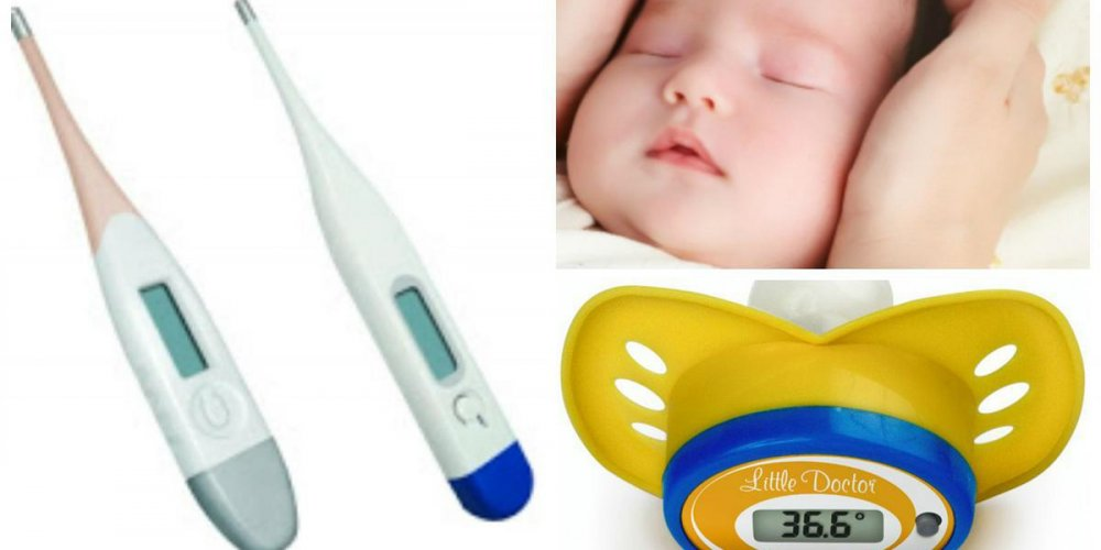 Что делать, если у маленького ребенка повысилась температура?