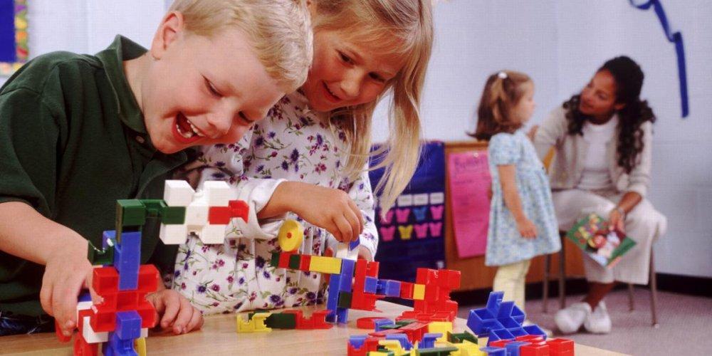 Детская мебель в детском саду