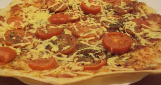 Секреты приготовления домашней пиццы