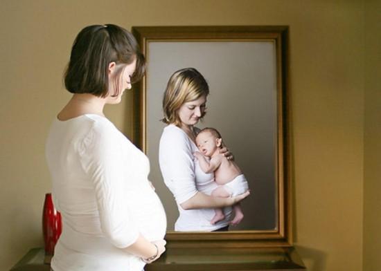 Страхи во время беременности - малыш