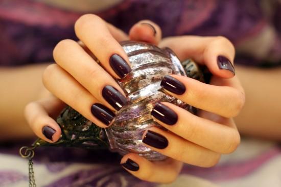 Черный лак для ногтей (2)