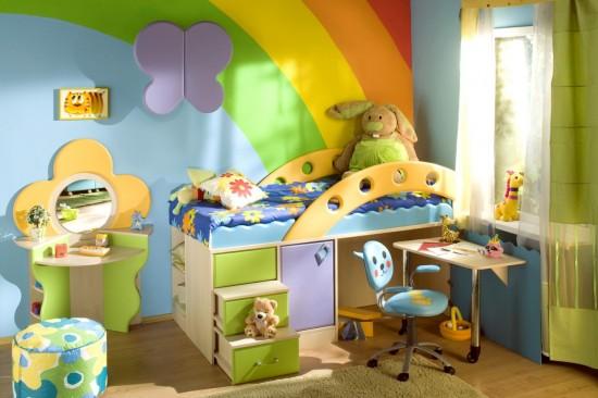 Мебель в оформлении детской комнаты (2)