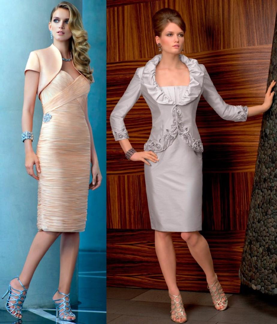 короткие платья с длинными рукавами