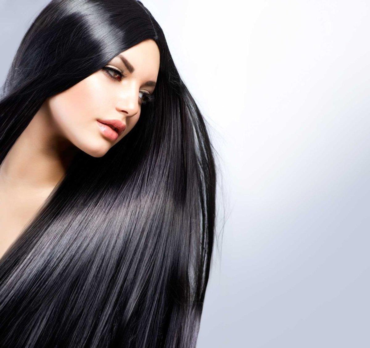Длинные волосы картинки - d703