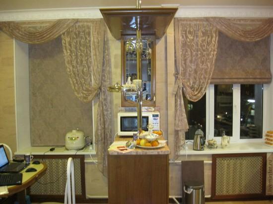 Выбираем подходящие кухонные шторы