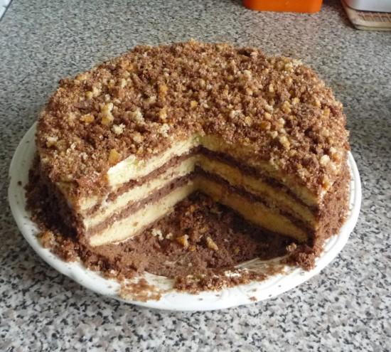 Как приготовить торт 3