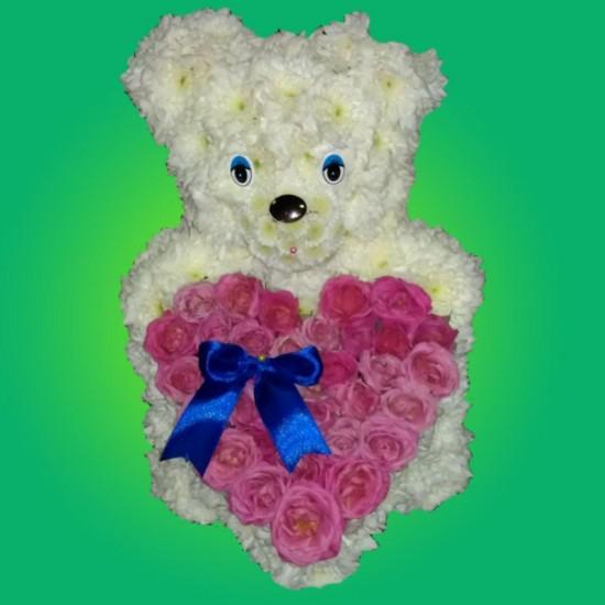 Игрушки из цветов – подарок, призванный покорять1