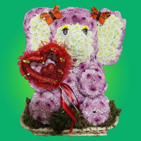 Игрушки из цветов – подарок, призванный покорять3