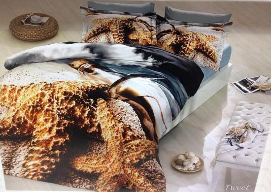 Постельное белье 3D: смелая идея для интерьера спальни