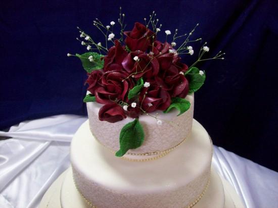 Торт на свадебное торжество3