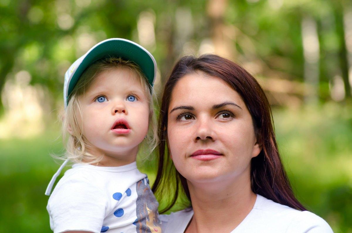 няня и ребенок первое знакомство