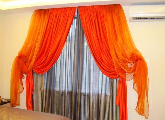 Как декорировать шторы?