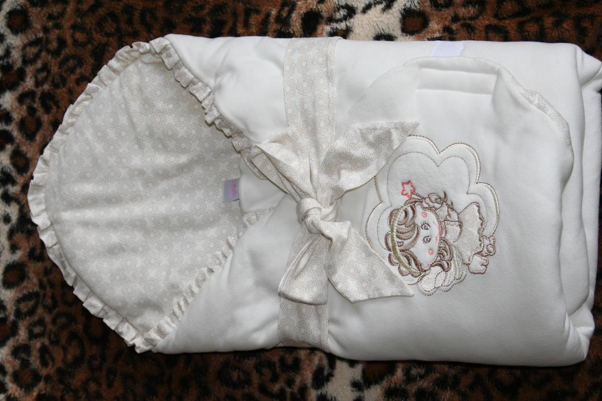 Летний конверт на выписку для новорожденных своими