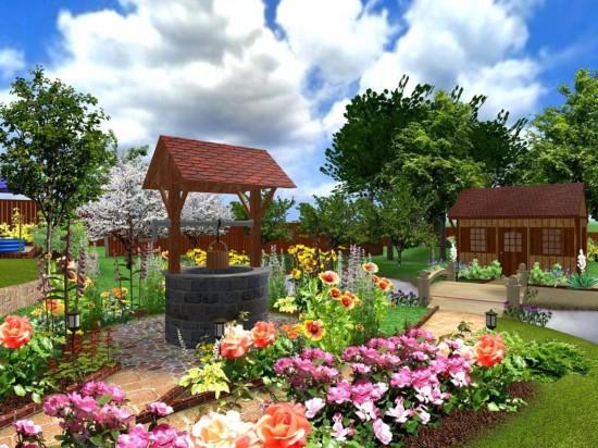 Дизайн садового участка для начинающих3