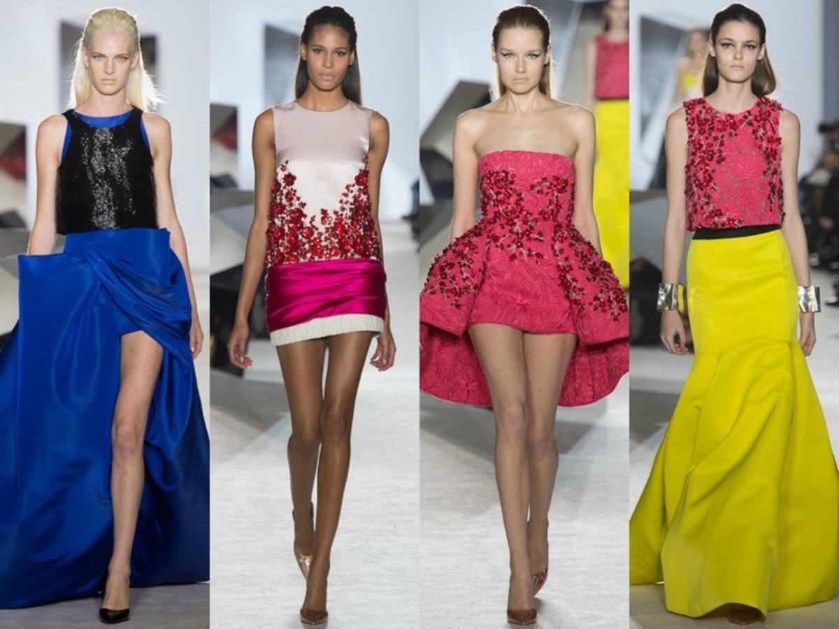 Модные платья 2014 на фото