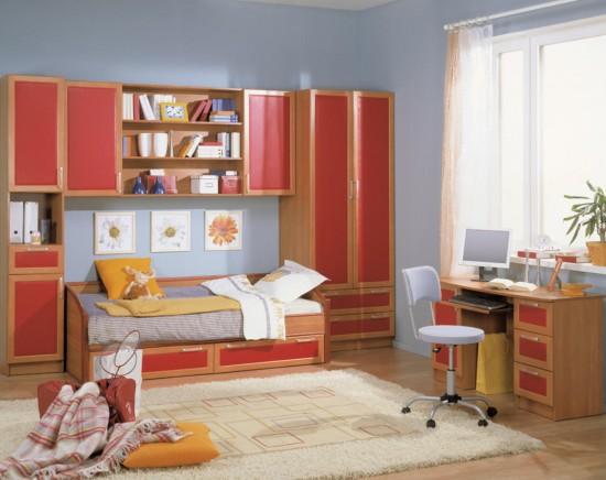Секреты подбора мебели для детской комнаты3