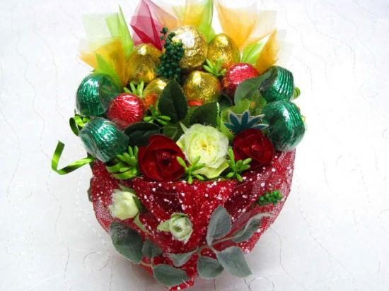 Букет из конфет – подарок для сладкой жизни