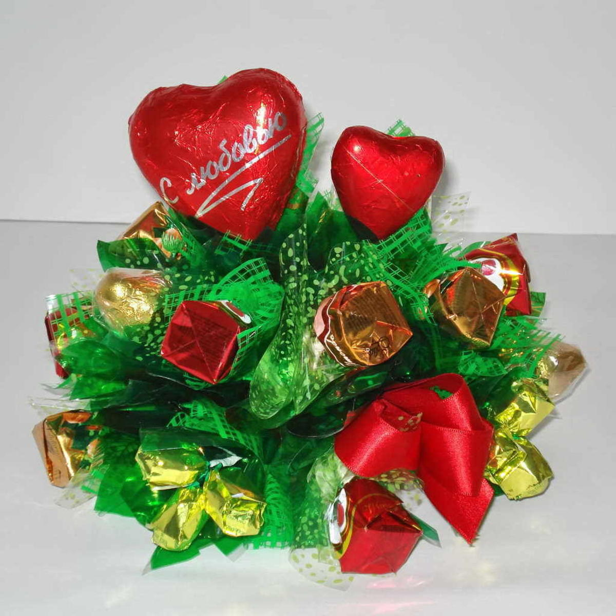 Цветы для букетов из конфет