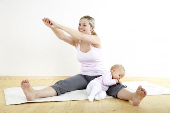 Восстановление и похудение молодой мамы
