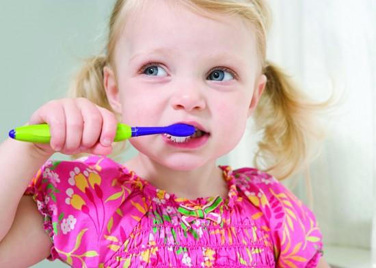 Ультразвуковая зубная щетка для детей