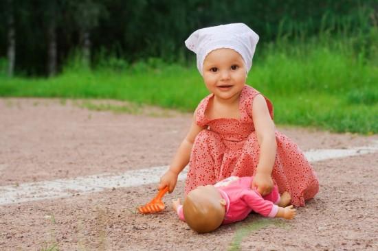 Роль куклы в развитии детей