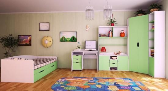 Оформление детской комнаты для маленького ребенка3