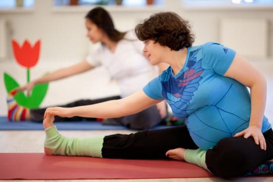 Полезная гимнастика для беременных3