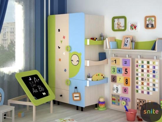 Как выбрать шкаф в детскую комнату