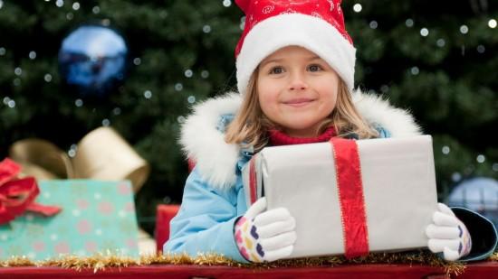 Детский праздник на новый год2