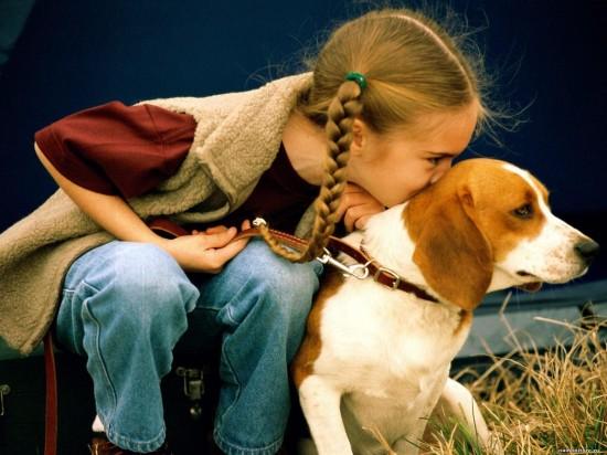 Нужно ли ребенку общение с собакой2