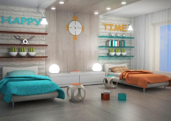 Обустройство детской комнаты 2