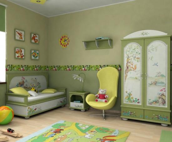 Обустройство детской комнаты 3