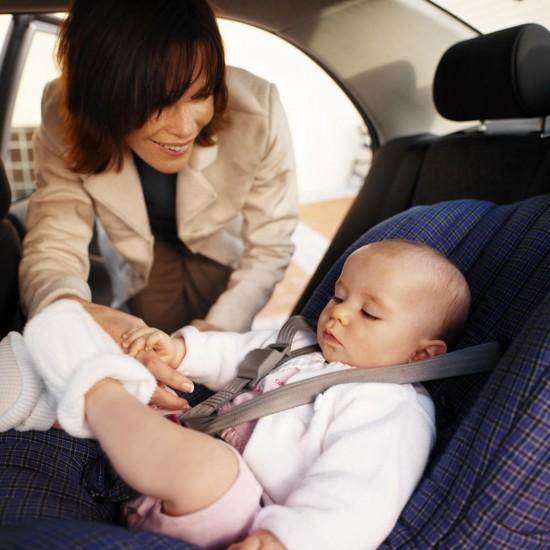 Путешествие на авто с ребенком
