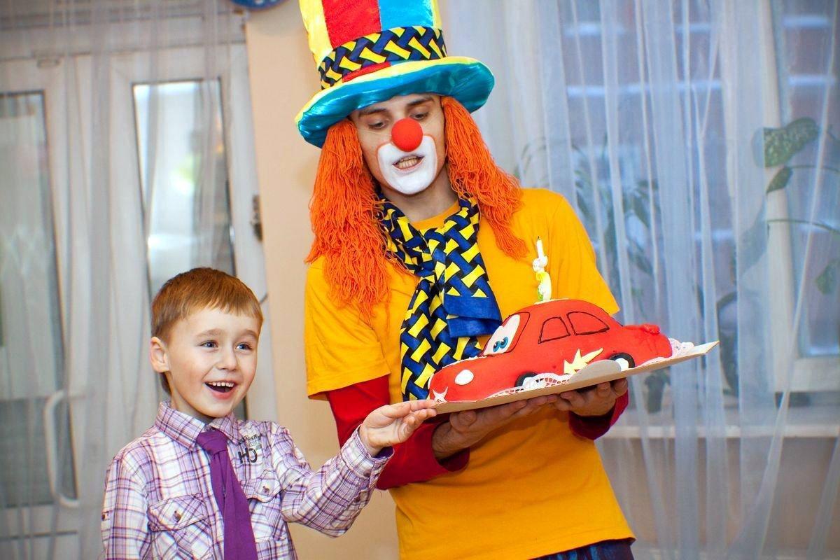 Сценка клоунов на новый год