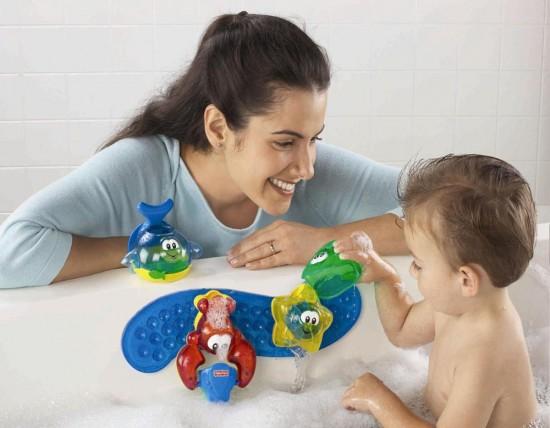 Водные процедуры для новорожденного3